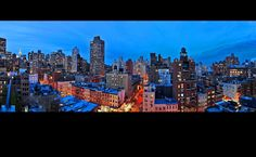 Amazing panoramic views from our New York City Rooftop Lounge!
