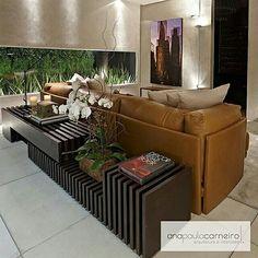 Inspiração ♡ #interiores #design #interiordesign #decor #decoração #decorlovers #archilovers #inspiration #ideias #sala #living #saladeestar #livingroom #anapaulacarneiro