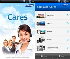Samsung launches customer service app on Android as proof that it Cares