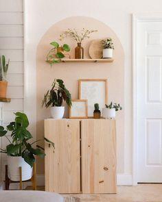 Wider arch of color blocking. Decor, Home Decor Inspiration, Home Living Room, Interior, Home Decor, Room Inspiration, House Interior, Apartment Decor, Interior Design