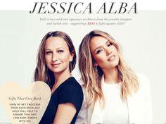 #JessicaAlba et #KaleyCuoco créent leurs propres bijoux pour la bonne cause !