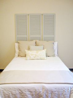 Your bedroom should be your safe haven – a place for you to relax, unwind and get a great night's sleep. Sometimes that means a new mattress and sometimes, it just comes down to having a great headboard. Instead of heading out to the furniture store to buy a new headboard, you can make one...