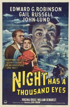Night Has A Thousand Eyes (1948) - Edward G. Robinson DVD