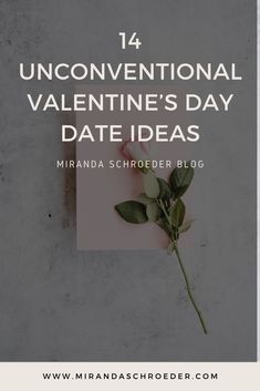 For date night, we tend to just go out to eat over and over again. Not complaining because I LOVE some quality time over a good meal and a glass of wine, but I'm also ready to try new things together. So here are 14 unconventional Valentine's Day Date Ideas.... or really just any time date ideas... Enjoy!  | Valentine's Day | Date Ideas | Dating | Relationships | Marriage | Life |