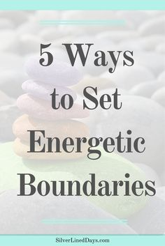 When we are surrounded by a negative work environment, encountering ongoing conflicts at home, or simply just being around heavy energy, it can be draining regardless of what we do on the physical, mental and emotional level. Setting boundaries for yourself requires being consistent. When it comes to energy work, daily practice, even if it is just for a minute each day, is important. reiki | energy healing | holistic healing | spiritual awakening | chakra balancing | clear chakras | balance…