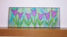 Spring Tulips - Original Paper Quilt