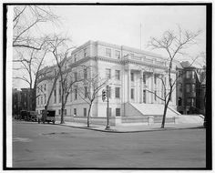 This beautiful 1926 photo from the the Library of Congress depicts the Washington DCJCC in its first year open. Click through to read about building.