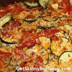 Post image for Italian Zucchini Bake  For more info on Take Shape For Life go to www.loseitforgood.tsfl.com