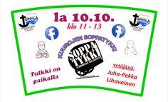 """Toppila-Center on Twitter: """"Soppaa ja Evankeliumia Toppila-Centerissä la 10.10. klo 11. Tervetuloa! :) https://www.facebook.com/KuurojenSoppatykki"""
