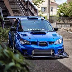 Check Out Our Subaru STI T-Shirt Collection – Click The Link – Subaru wrx sti Jdm cars impreza Drift blue … Subaru Impreza Sti, Tuner Cars, Jdm Cars, Cars Auto, Japanese Sports Cars, Japanese Cars, Street Racing Cars, Auto Racing, Mercedes