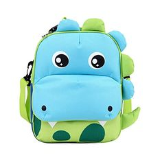 Yodo Convertible Playful Insulated Kids Lunch Boxes Carry Bag   Preschool  Toddler Backpack for Boys Girls c9e5de181c7f9