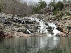 Rocky Falls on the Current River section of the Ozark Trail. April 12, 2014