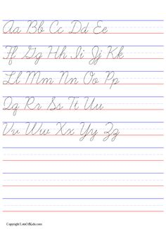 Printables Cursive Worksheet Generator cursive teaching writing and on pinterest worksheet generator dashed with lines handwriting practice maker from lotsofkids com
