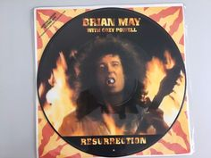 Brian May Queen - Ressurrection - UK picture disc maxi vinyl - tour edition 1993