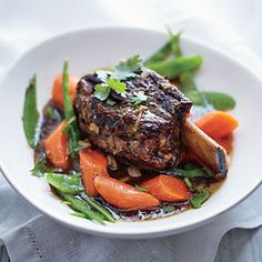 Sweet and Tangy Short Ribs Recipe | Cooking Light #myplate #protein #veggies