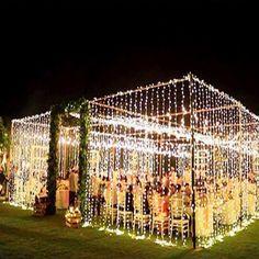 wedding tent of lights box boho wedding dress/wedding quizes/wedding/rustic wedding/outdoor wedding dress/ Wedding Goals, Wedding Tips, Wedding Ceremony, Our Wedding, Dream Wedding, Wedding Hacks, Fall Wedding, Magical Wedding, Cool Wedding Ideas