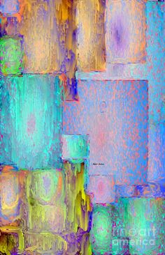 Abstract 01153 Digital Art by Rafael Salazar