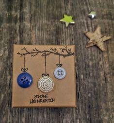 Es gibt grosse Wünsche die in eine kleine selbstgemachte Geschenk-Box passen. 6 cm lang, 6 cm breit und 3.5 cm tief. sFr. 18.- Washer Necklace, Drop Earrings, Jewelry, Diy Gifts, Simple, Dekoration, Jewlery, Jewerly, Schmuck