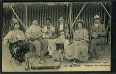 judaica-algerie33099 - Algérie - Groupe de chanteurs (Editeur : Boumendil -