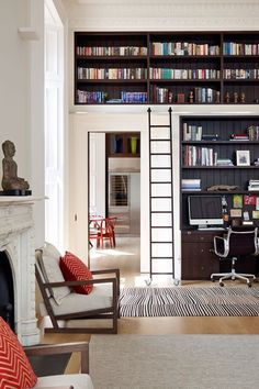 Discover bookshelf ideas on HOUSE - design, food and travel by House & Garden. Feast your eyes on the most novel ideas for displaying books.