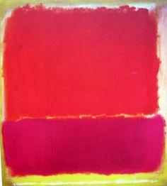 """color inspiration __ Mark Rothko --- No. 12, 1951 57"""" x 52"""""""