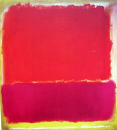"color inspiration __ Mark Rothko --- No. 12, 1951 57"" x 52"""