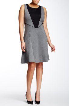 Tart - Deandra Paneled Dress (Plus Size)