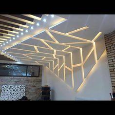 Image may contain: indoor Gypsum Ceiling Design, House Ceiling Design, Ceiling Design Living Room, Bedroom False Ceiling Design, Ceiling Light Design, Home Ceiling, Home Room Design, Ceiling Decor, Modern Ceiling Design