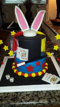 Magician Birthday Cake
