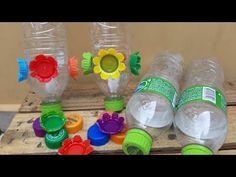 Como fazer um bebedouro para Beija-Flor - YouTube Bee Crafts, Craft Stick Crafts, Bird Food, Humming Bird Feeders, Hummingbird, Ideas Para, Cactus, Diy Projects, Birds