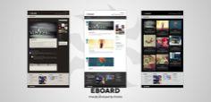 Best Showcase Vcard Wordpress Themes Three in One Premium Personal Blog http://www.wpthm.com/wordpress/vcard
