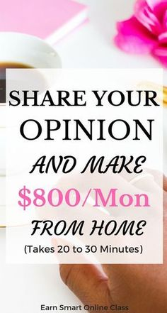 Need some quick cash? These survey sites will help you make $800 or more per month. The surveys take 20 to 30 minutes to complete| side hustles| ways to make extra income| watch videos| sweepstakes & rewards| complete survyes