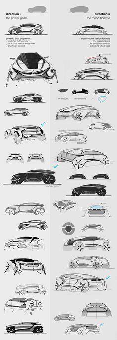 BMW i-X5 Concept Sketch