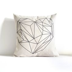 Heart lines Design - Umbrella Design - Throw Pillow Cover, Decorative Pillow Cover, Throw Pillow, Sofa Pillow, Gift, Pillow Covers by APieceOfBella on Etsy https://www.etsy.com/ca/listing/480358812/heart-lines-design-umbrella-design-throw