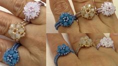 Handmade Jewelry Elegant Trio Ring                                                                                                                                                     More