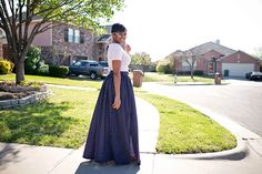 Hi guys! Check out my latest DIY tutorial on sewing a great looking Maxi Skirt with a High Split! DIY Tutorial: Maxi Skirt with High Split http://www.stylesewme.com/diy-tutorial-maxi-skirt-high-split/