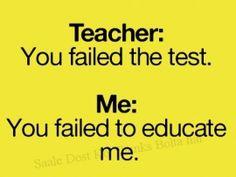 teacher humor | Teacher & Student Jokes (click to view)