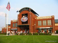 TD Bank Ball Park, Bridgewater, NJ. Home of Somerset Patriots (Atlantic League Prof. Baseball)