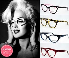 "Tendencia gafas ""Cat Eye"""