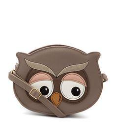 Owl Face Bag #hoot #animal #Owl #Face #Bag #purse #coin