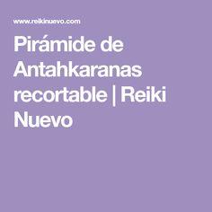 Pirámide de Antahkaranas recortable | Reiki Nuevo