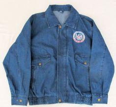 Men's Medium World War II Veteran Blue Jean Jacket   Clothing, Shoes & Accessories, Men's Clothing, Coats & Jackets   eBay!