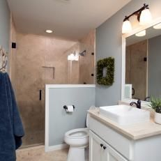 After: Guest Bathroom