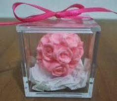 mini buque de flores lembrancinha - Pesquisa Google