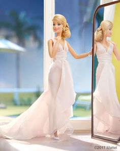 It's fun to get fancy on a Friday night! ⭐️ #barbie #barbiestyle