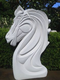 Horse Sculpture made from Hebel