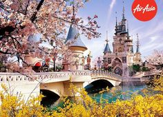Step into a magical world when you and your little ones spend a fun-filled time at Seoul's Lotte World