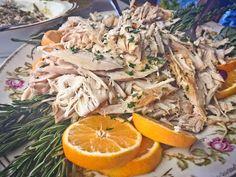 Garnish your turkey when serving  http://robinsoncottagecollection.blogspot.com