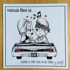 Varrio Love is...listening to firme rolas in the by TildenArt