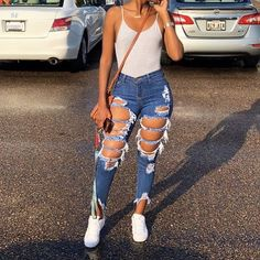Pin by Harriet Taylor on Outfit inspo Boujee Outfits, Cute Swag Outfits, Cute Comfy Outfits, Teen Fashion Outfits, Dope Outfits, Trendy Outfits, Summer Outfits, Ghetto Outfits, Freshman Outfits